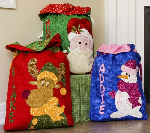 The Sacs make wrapping easy with no paper to throw away. Great for all ages.