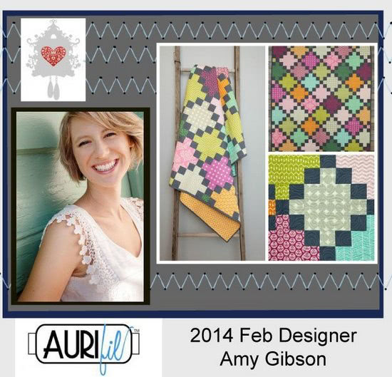 2014 Amy Gibson Feb Aurifil designer button