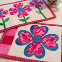 Patchwork LOVE Mug Rugs