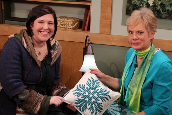 Kim Lapacek and Nancy Zieman