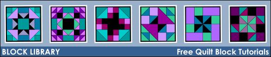 Block Library - Free Quilt Block Tutorials