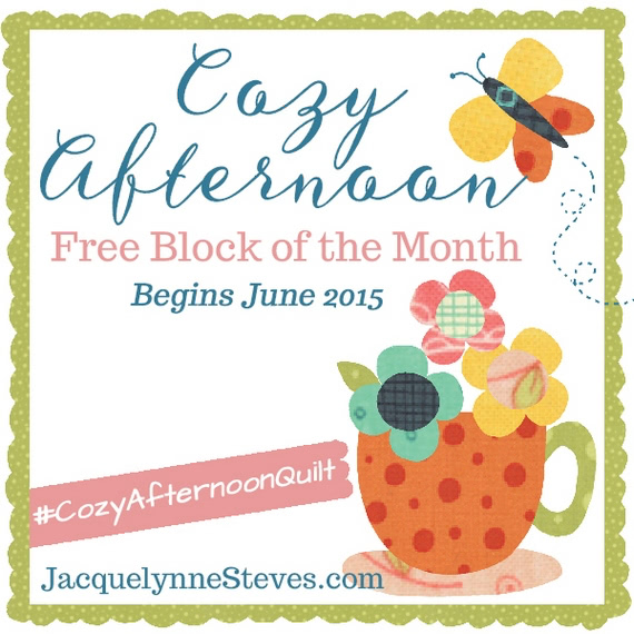 Cozy Afternoon Block of the Month