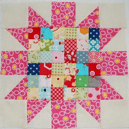 Blooming Star Block
