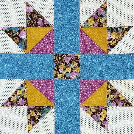 Heavenly Problems Quilt Block
