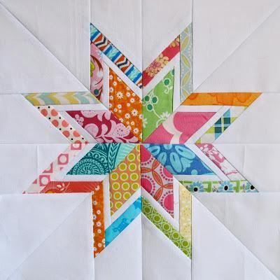 Lone Starburst Paper Piecing Templates