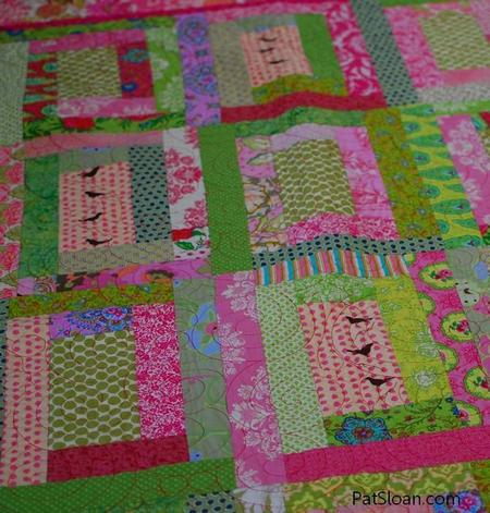 String Bean Quilt Block