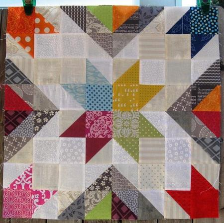 Star Value Quilt Block