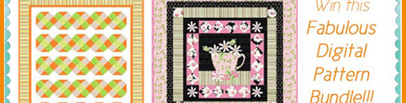 Cozy Afternoon Block of the Month and Give-Aways