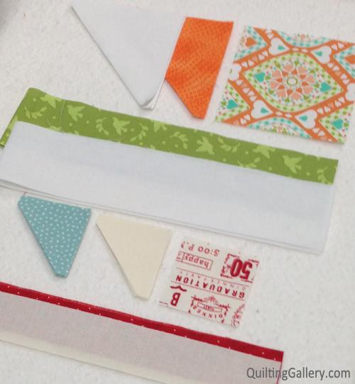 My cut fabrics