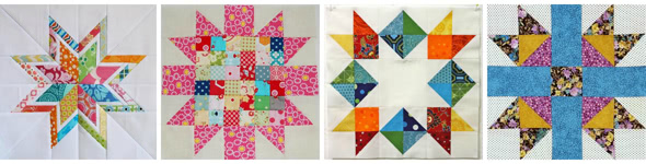 10 FREE Scrap-Busting Quilt Block Tutorials