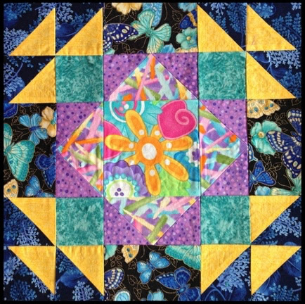 Summer Winds Quilt Block