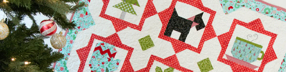 Winter Wonderland: My Milo Mini Quilt
