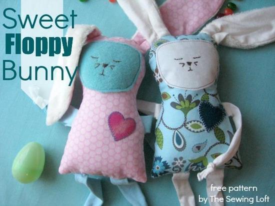 Sweet Floppy Bunny