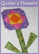 Quilters� Flowers Mini Quilt