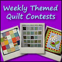 Weekly Themed Quilt Contests