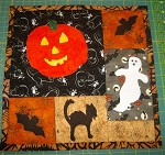 Happy Halloween! Table Topper