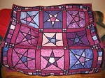 Stained Glass Star Quilt