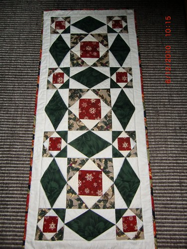 Christmas Tablerunners Quilting Gallery