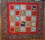 Funky Monkey Baby Quilt
