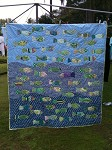 Swimming Fish Quilt