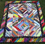 Across the Nation Strip Quilt