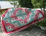 Log Cabin Quilt in a Day