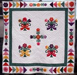 Flying Geese Applique Quilt