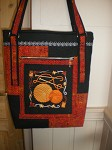 Fall handbag for a knitten lady