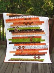 Ghoulish Strip Quilt