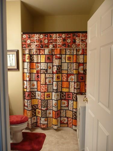 Shower Curtain Quilt Davotanko Home Interior