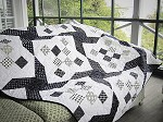 Jane's Black and White Quilt