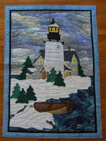 Winter Landscape Quilts Quilting Gallery