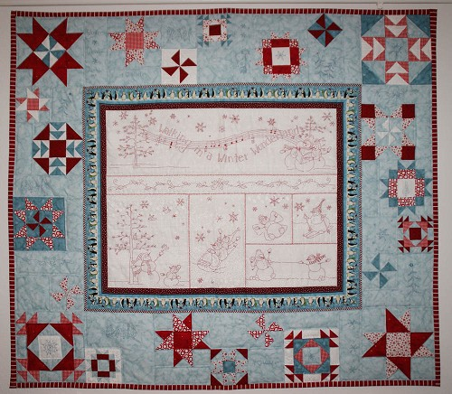Snowy Friends Quilt Contest Quilting Gallery