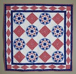 Fourth of July kaleidoscope  quilt