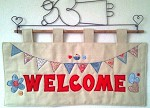 Welcome Wallhanging