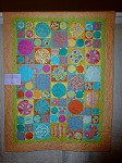 Wild and Crazy Circle Quilt