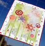 Spring Flowers Quilt - Pastels