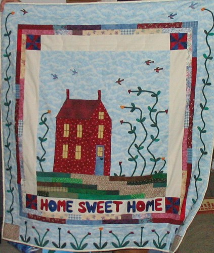 Buildings Houses Quilt Contest Quilting Gallery