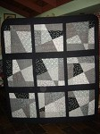 Mitchell's As Close To A Collingwood Quilt That He Will Get!