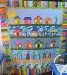 Beach Cottages (not quilted or bound, not eligible to win)