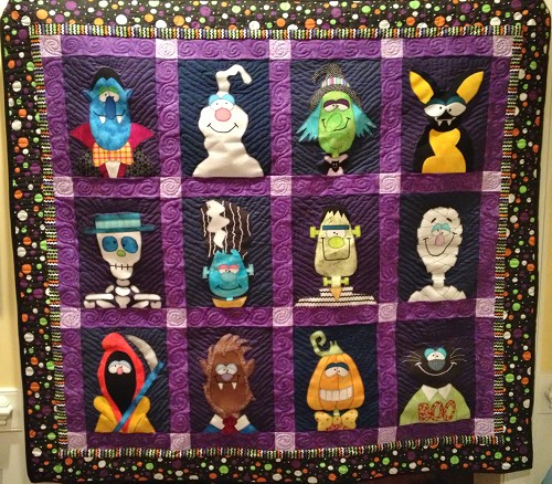 Halloween Fun Contest Quilting Gallery