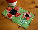 Remembrance Day Poppy Mug Rug