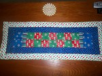 Mom's Christmas Table Runner