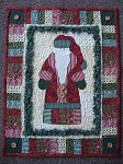 A Santa Wallhanging