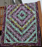 Mom's Lilac Diamond Quilt