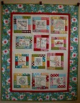 2012 Aurifil Designer of the Month Quilt