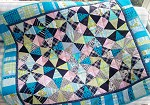 Kaleidoscope kid's quilt