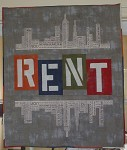 RENT Wall Hanging