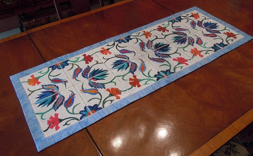 Just Table Runners Quilting Gallery