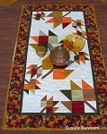 Tumbling Leaves  Table Runner